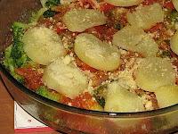 Batatas com Brócolis ao Forno