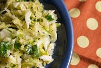 Salada de Repolho com Alho