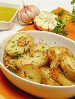 Batatas ao Alho