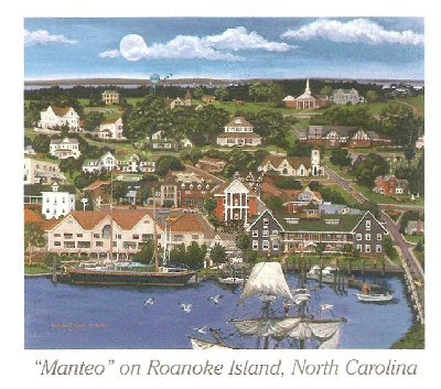 Manteo, on Roanoke Island, Nroth Carolina