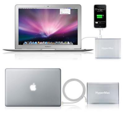Trecool, hypermac, baterias externas para mac