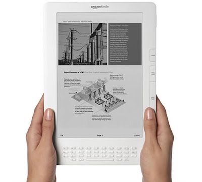 Trecool, kindle dx, amazon, lector digital de periódicos y revistas