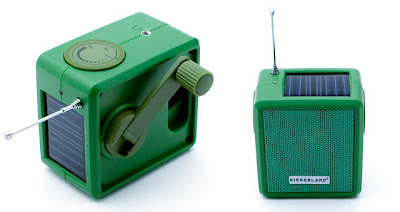 Trecool, Kikkerland, Radio, solar, dinamo