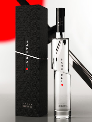 Trecool, Samurai, Vodka, Arthur Schreiber, packaging