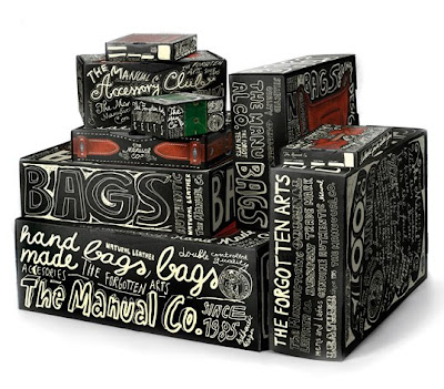 Trecool, The Manual Co., Peter Gregson, packaging con tipografías handmade