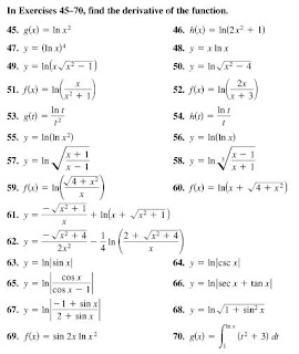 Randolph H.S. AP Calculus AB '09: Derivatives of Exponential ...