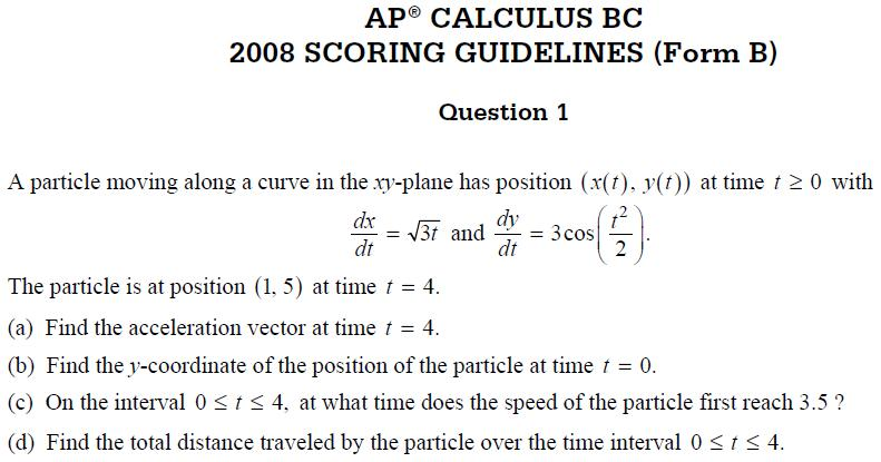 Randolph H.S. AP Calculus BC 09: March 2010