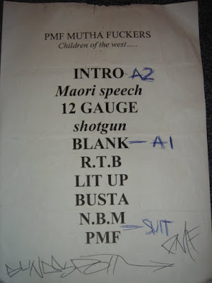 blindspott concert set list