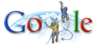 google mount everest edmund hilary logo
