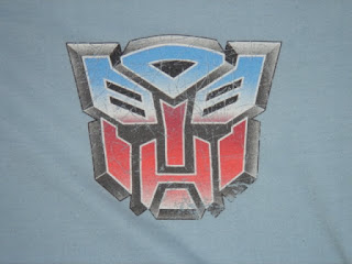 Autobot Logo on Blue Background