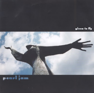 given to fly pearl jam single art cover picture photo