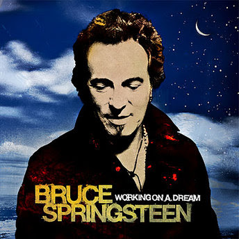 bruce springsteen working on a dream album cover picture