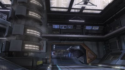 halo 3 orbital map screen shot bungie