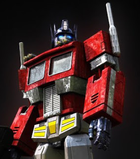 optimus prime experiment transformers