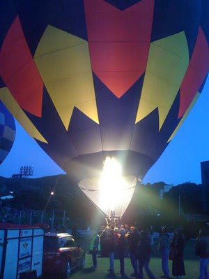 hot air balloon festival wellington basin reserve
