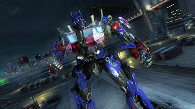 optimus prime revenge of the fallen