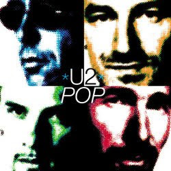 pop album cover U2 artwork