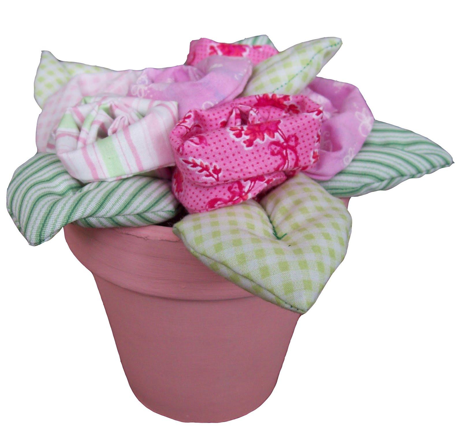 Mimi mel n deco enero 2011 - Flores de telas hechas a mano ...