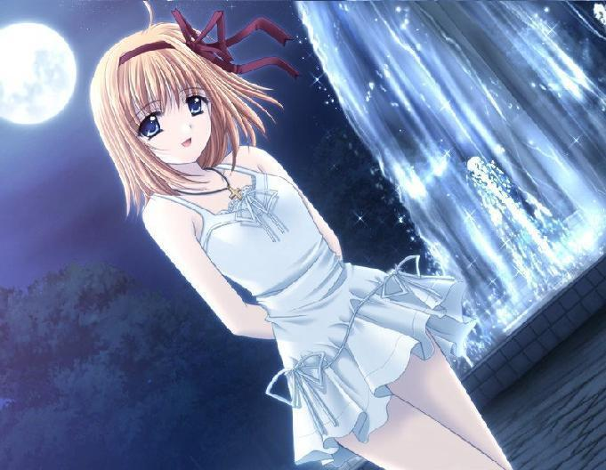 O que é o RPG?  Anime+Girl+Branca