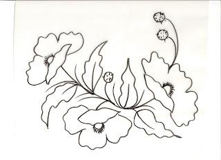 Riscos De Flores Para Pintura