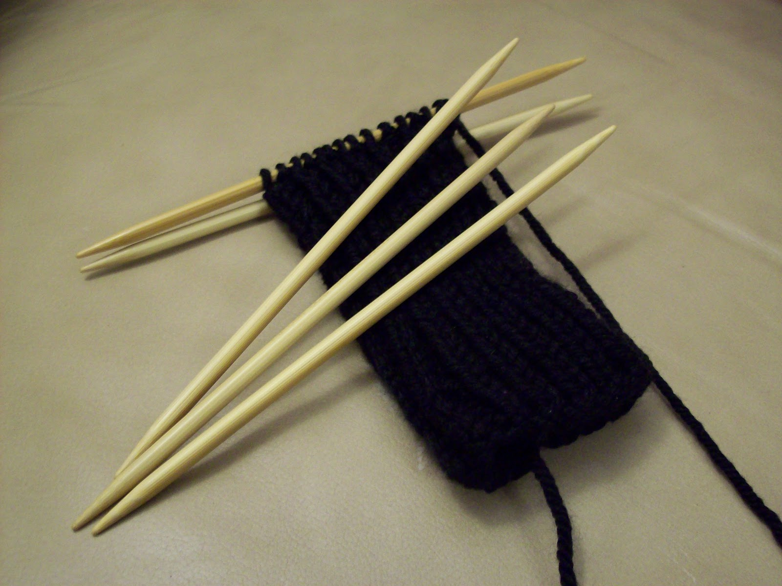 Knitting Needles Novelty : Review time clover s double pointed premium bamboo