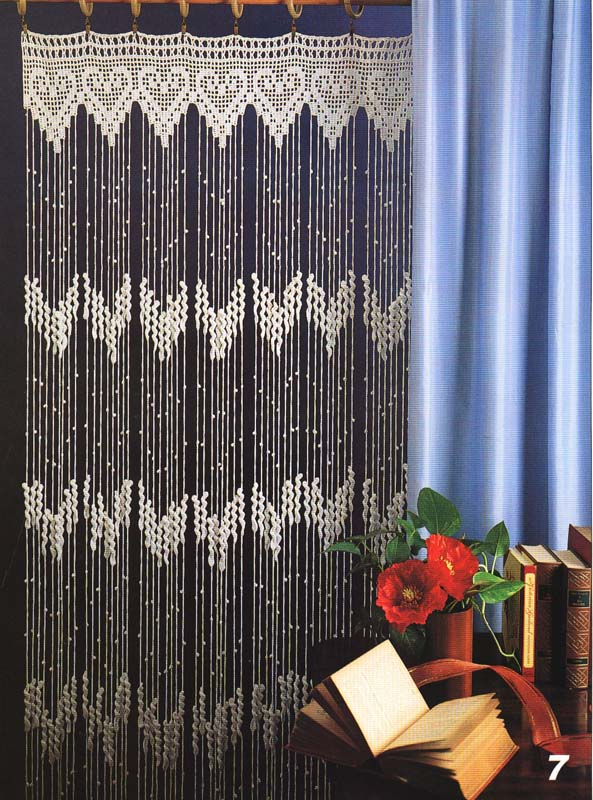 di rio do croche bela cortina. Black Bedroom Furniture Sets. Home Design Ideas