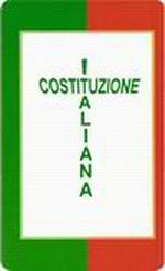 """Aderisci al Gruppo Facebook """"Una copia della Costituzione Italiana al muro di ogni aula scolastica"""""""