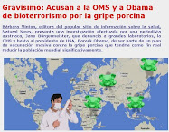 Jane Bürgermeister acusa de bioterrorismo a OMS y Obama