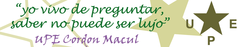 UPE-Cordon Macul