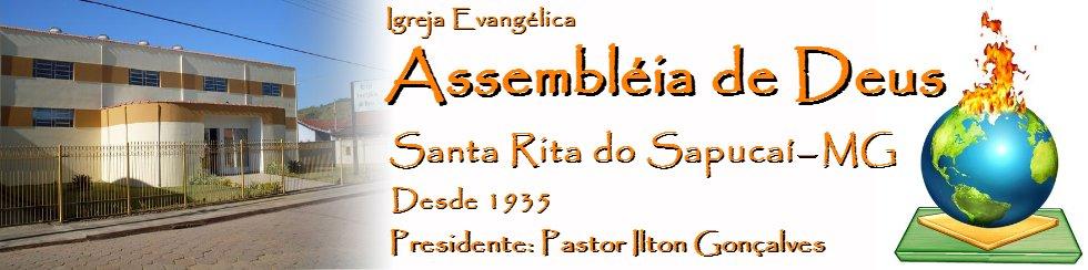 Assembleia de Deus em Santa Rita do Sapucai - MG