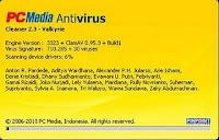 PCMAV 2.3 Valkyrie - PCMedia Antivirus