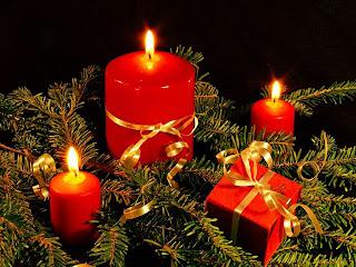 Free Christmas decoration background