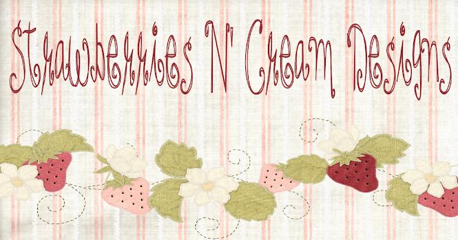 Strawberries N' Cream Designs