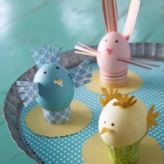 اعمال فنية جميلة لقضاء وقت الفراغ  Paper-Egg-Animals-Craft-fb-26061084
