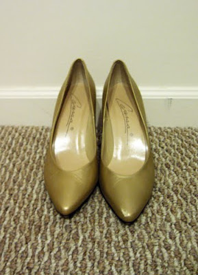 modest lds fashion blog clothed much salt lake city utah mormon modesty style  birthday present gift vintage gold shoes