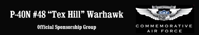 "P-40N #48 ""Tex Hill"" Sponsorship Group"