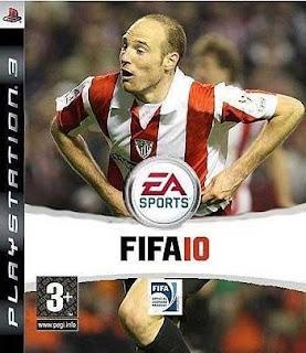 Toquero portada del FIFA 2010