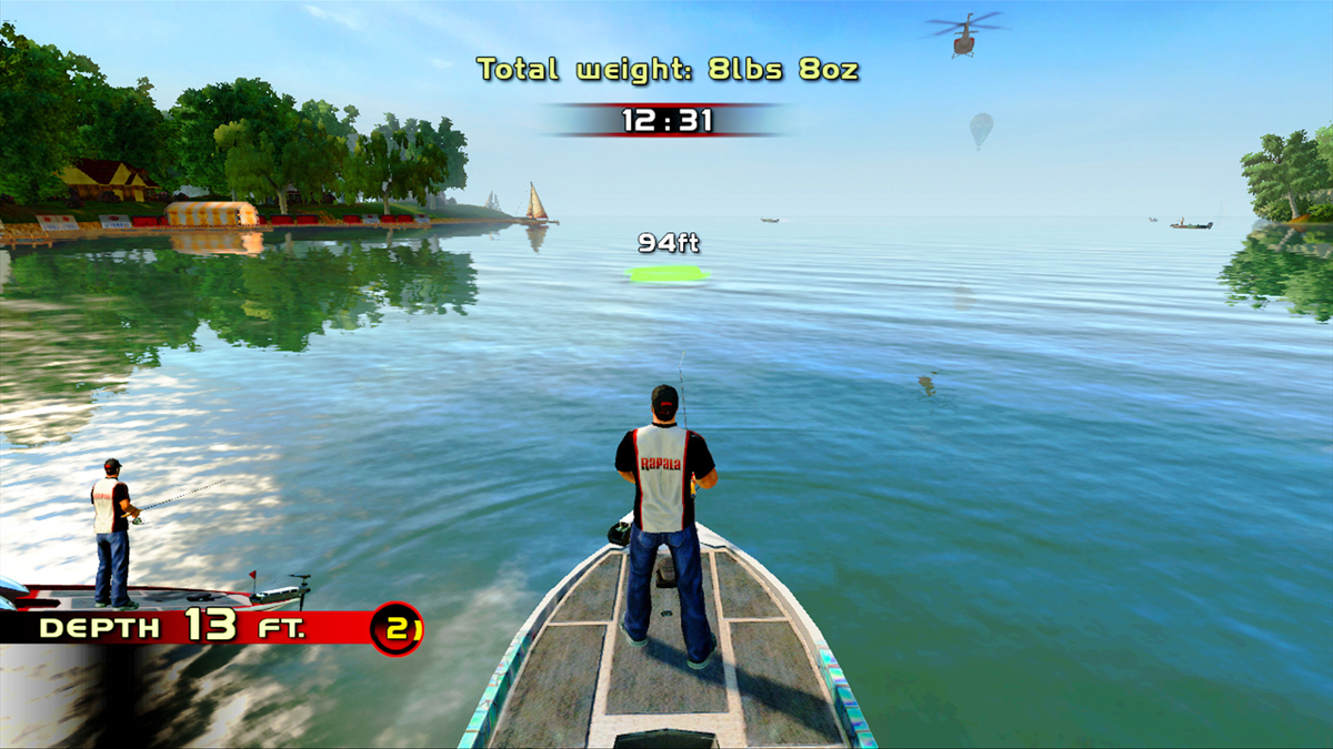 Pescaria no rio tiet rapala pro bass fishing for xbox for Xbox one hunting and fishing games