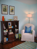 The Nursery - Bookcase and Chair