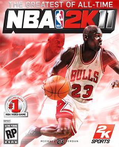 NBA 2K11 Jordan Game Cover