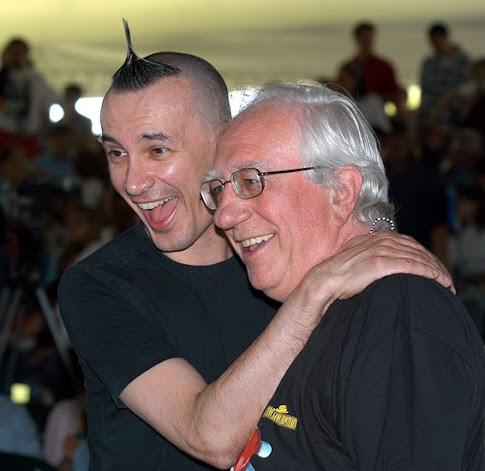 Arturo Brachetti e il Mago Sales