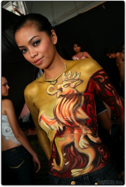 Queen Body Painting Tattoo