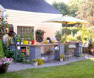 Rooms and living space budget friendly ideas for outdoor for Outdoor living ideas on a budget
