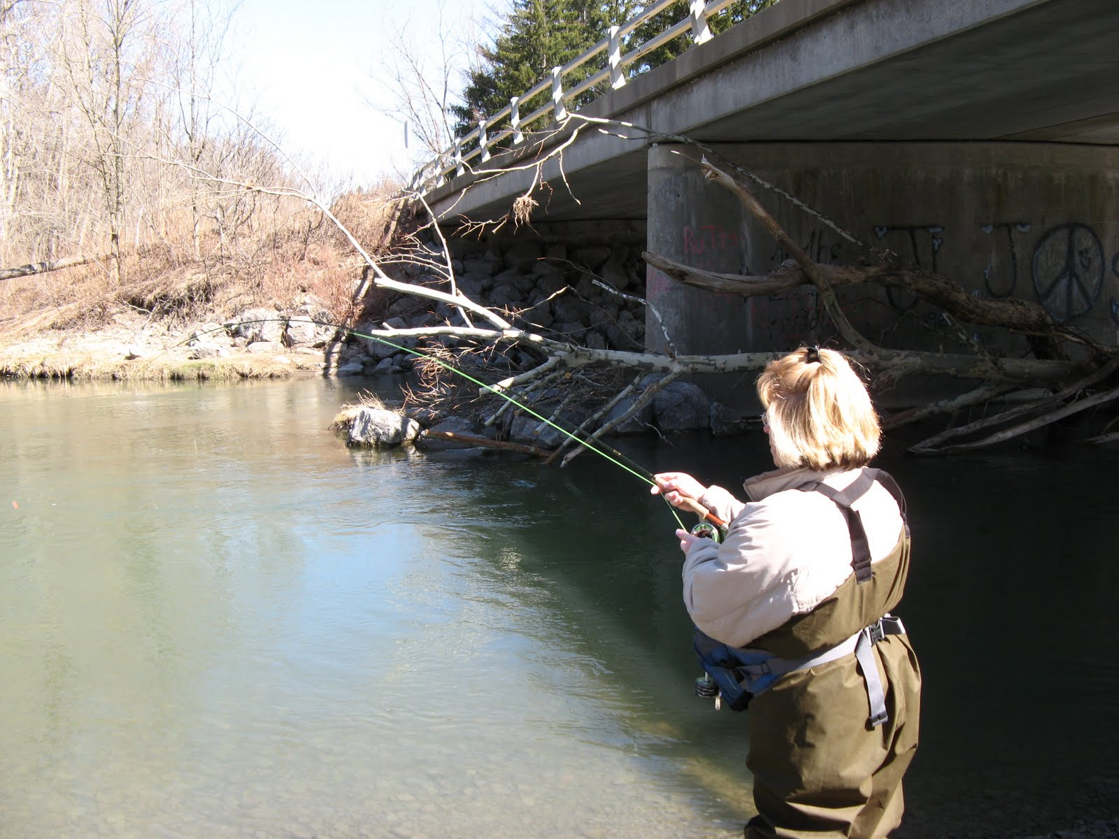 Wny fly fishing wny fly fishing report 03 31 10 for Trout fishing ny