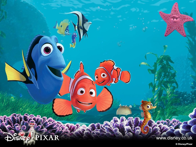 Wallpaper Animasi, finding nemo