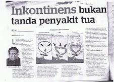 Berita ExMOZAC1980 di akhbar_Datuk Dr Rohan Malek