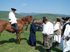Szent György napi kihajtás, Kacár tanya, április 25