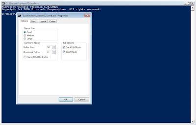 Binary options options cmd