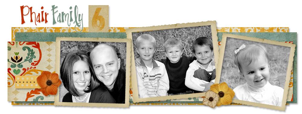 The Phair Family Six