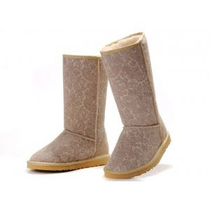 UGG Classic Tall - Romantic Flower Sand